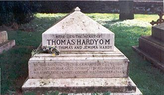 1928 in poetry - Grave of Thomas Hardy