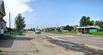 Diveyevsky District - The selo of Glukhovo in Diveyevsky District