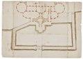 Byggnadsritning på Wrangelska palatset - Skoklosters slott - 98953.tif