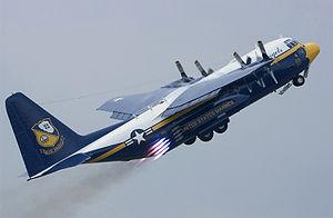 JATO - Image: C 130T Hercules Blue Angels
