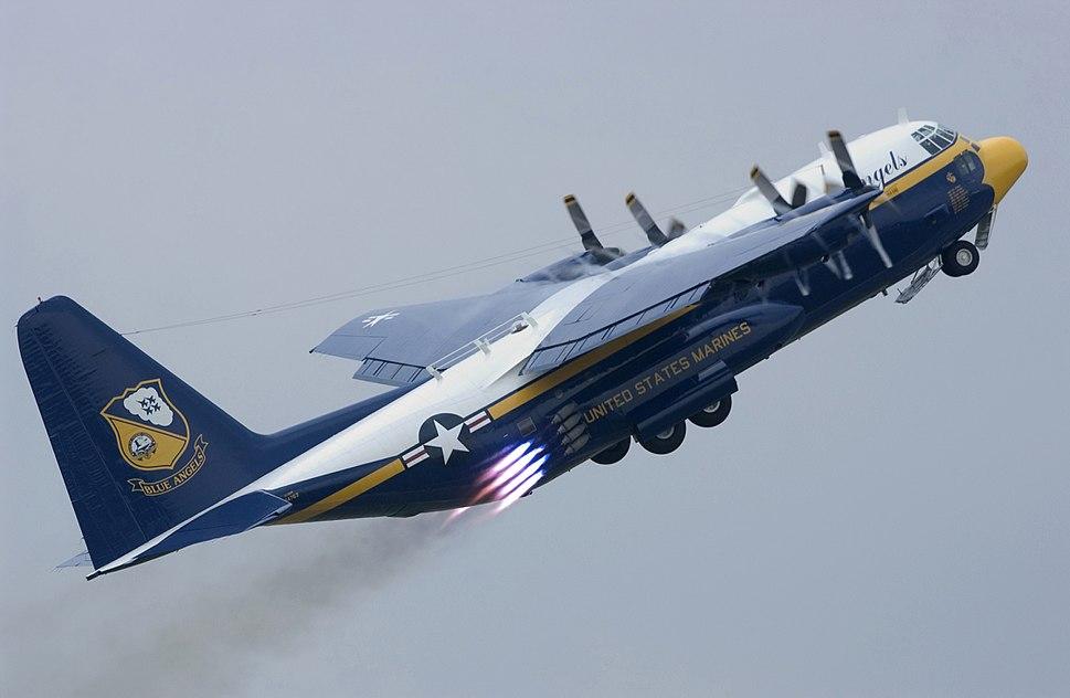 C-130T Hercules Blue Angels
