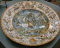 C.sf., urbino, bottega dei patanazzi, piatto da parata, 1579 circa.JPG