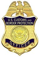 Badge du CBP