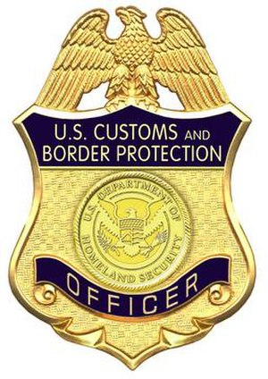 CBP Office of Field Operations - CBP Officer Badge