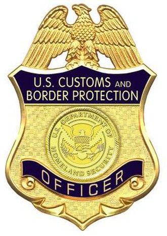 CBP Office of Field Operations - CBP Officer Badge