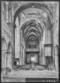 CH-NB - Romainmôtier, Abbatiale, Nef, vue partielle intérieure - Collection Max van Berchem - EAD-7495.tif