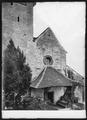 CH-NB - Spiez, Schlosskirche, vue partielle extérieure - Collection Max van Berchem - EAD-6702.tif