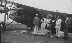 Van Lear Black - Fokker Passengers at Singapore