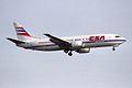 CSA - Czech Airlines Boeing 737-4Q8 OK-YGU (34045325755).jpg