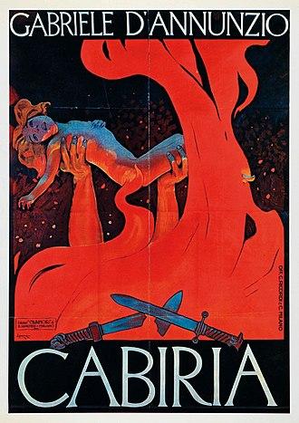 Cabiria - Image: Cabiria Poster Metlicovitz