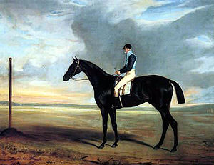 Cadland - Cadland and Jem Robinson. Painting by John Ferneley.