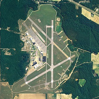 Cairns Army Airfield - NAIP aerial image, 30 June 2006