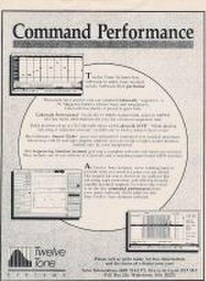 Cakewalk (sequencer) - Cakewalk Professional 1.0 for DOS