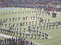 Cal Band performing pregame at 2008 Big Game 18.JPG