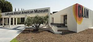 California African American Museum - Image: California African American Museum exterior