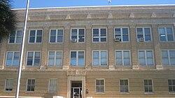 Callahan County, TX, Courthouse, Baird, TX IMG 6382.JPG