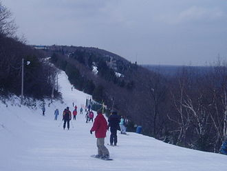 Pocono Township, Monroe County, Pennsylvania - Skiing at Big Pocono State Park
