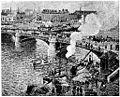 Camille Pissarro Brücke in Rouen (aus Kunst und Künstler 1904).jpg