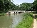Canal du Midi. Epanchoir (spillway) de l'Argent-Double. La Redorte, département de l'Aude, France. - panoramio.jpg