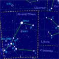 Canis major constellation map-fr.png