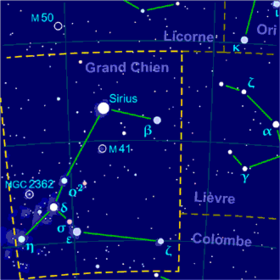 Image illustrative de l'article Grand Chien (constellation)