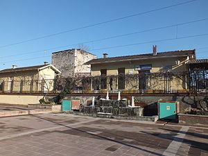 Cankurtaran railway station - Cankurtaran station looking from the north.