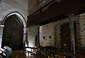 Capella i cor, església del Salvador de Sagunt.JPG
