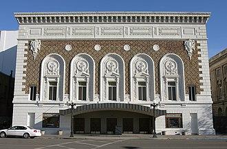 Capitol Theatre (Yakima, Washington) - The exterior of the Capitol Theatre
