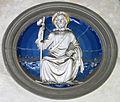 Cappella pazzi, apostoli di luca della robbia, san giacomo maggiore.JPG