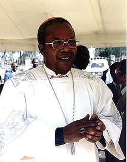 John Njue Archbishop of Nairobi