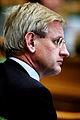 Carl Bildt, utrikesminister Sverige, lyssnar pa talare under Nodiska radets session i Kopenhamn 2006.jpg
