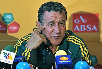Carlos Alberto Parreira - Parreira as manager of South Africa in 2010.