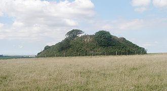 Veryan - Carne Beacon, the site of T2 Veryan Post