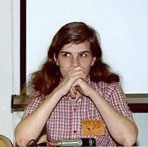 Carol Kalish - Carol Kalish, on a Women In Comics panel in 1982.