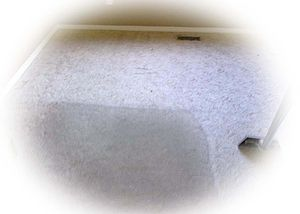 English: Carpet Cleaning. Sample of carpet cle...