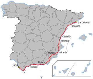N-340 road (Spain)