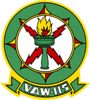 VAW-115 - Image: Carrier Airborne Early Warning Squadron 115 (US Navy) patch