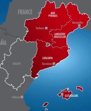 Euroregion Pyrenees-Mediterranean