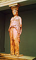 Caryatid from the Erechtheum. Pentelic Marble. About 415 BC - British Museum.jpg