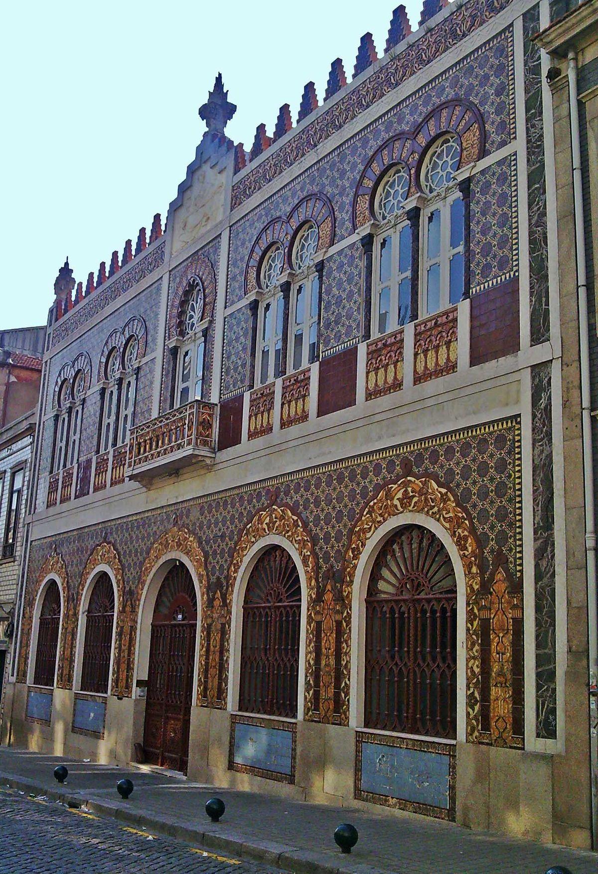 Rua de jos falc o wikip dia a enciclop dia livre for Edificio de los azulejos