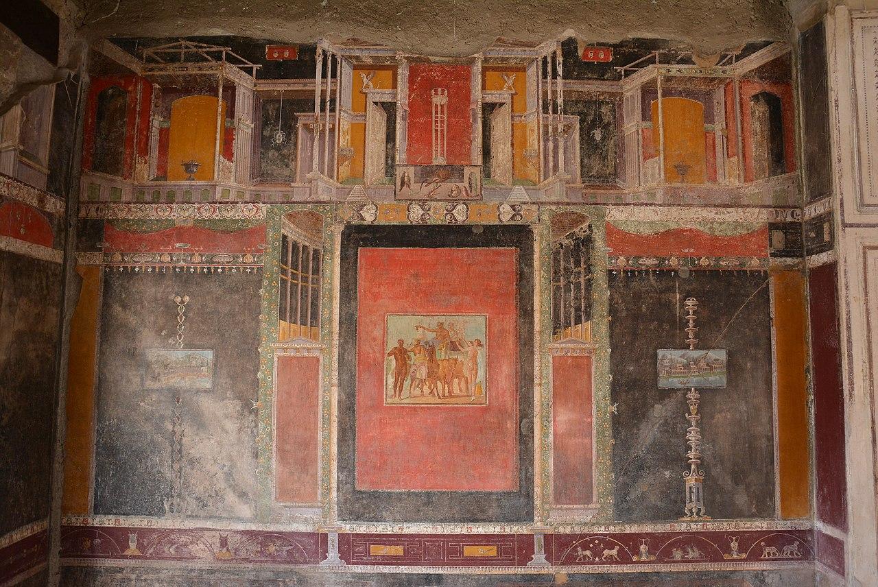 I quattro stili della pittura pompeiana capitolivm for Case di stile