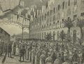 Casamento de S.A. o Príncipe Real D. Carlos de Bragança - Chegada da Princeza D. Maria Amelia de Orleans á Gare do Caminho de Ferro do Norte e Leste - 19 de Maio de 1886.png