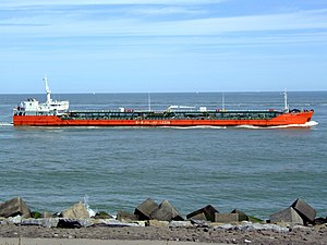 Caspian Leader IMO9235684 p4 approaching Port of Rotterdam, Holland 08-Jul-2007.jpg
