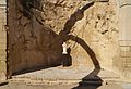Castell de la santa Bàrbara d'Alacant, ruïnes de l'ermita de santa Bàrbara.JPG