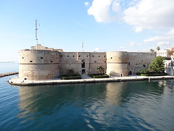 The Aragonese Castle in Tarentum