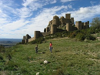 Aragon - Loarre, one of the most important Romanesque castles in Europe