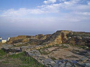 Castros (Spain) - Castro of Fazouro, Foz, (Galicia).