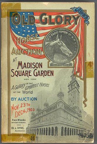 "Fasig-Tipton - 1903 ""Old Glory"" Sale Catalog"