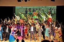 Catmose College students perform Hairspray.jpg