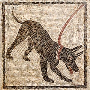 Beware of the dog - Mosaic at Pompeii